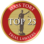 Top accident lawyer badge from Mass Tort Trial Lawyers