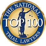 Top lawyers badge from The National Trial Lawyers
