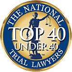 Top rated law firm badge from The National Trial Lawyers